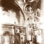 Mescid-i Aksa - iç görünüm 1880